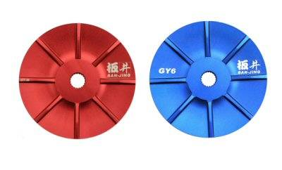 BAN JING Forged GY6 Variator Drive Face (BLUE)